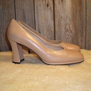Vaneli nude pumps heels size 7.5 M